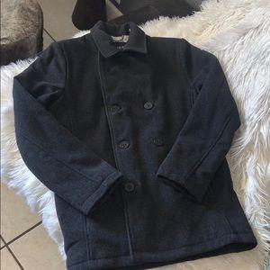 Guess peacoat wool  sz medium like new charcoal
